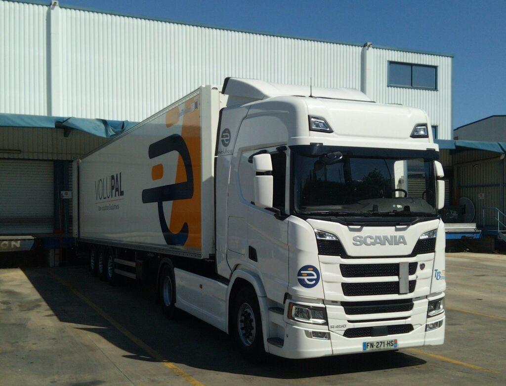 camion, transport, Volupal, livraison